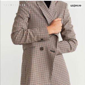 Check Structured blazer